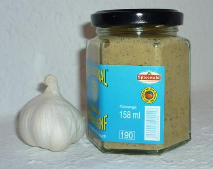 Bild 3: Knoblauch Senf 270 ml Thüringen Steinzeugtopf