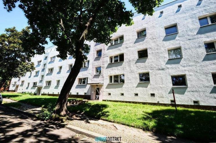 Bild 1: Eleganter ERSTBEZUG: raffinierter Grundriss * 4-ZKB mit BALKON * sehr großes Wohnzimmer
