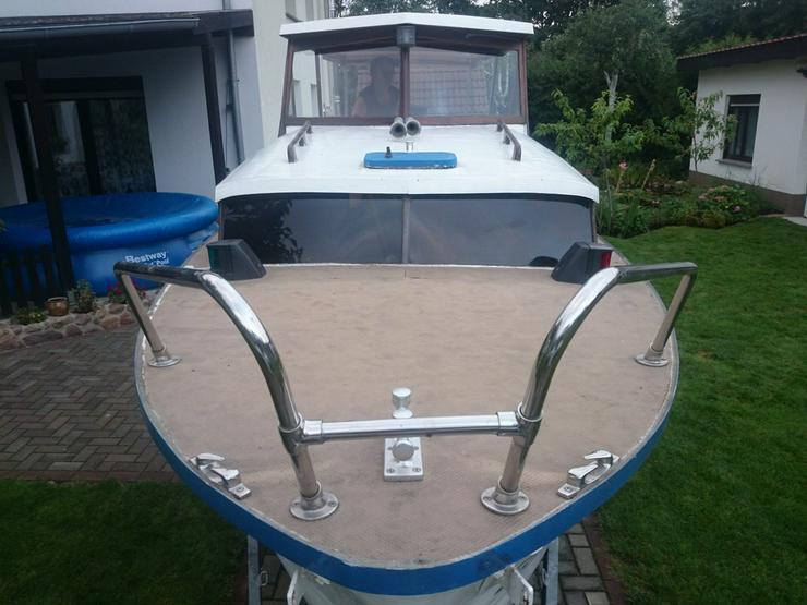 Bild 6: Kajütboot 650x200cm mit Außenborder Honda 30 PS