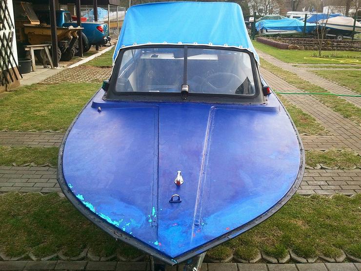 Motorboot Trainer 450x165cm mit Cabrioverdeck