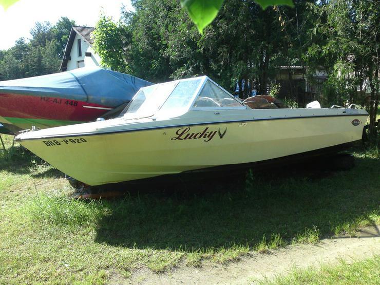 Bild 2: Motorboot Glastron 570x220cm Außenborder 50 PS