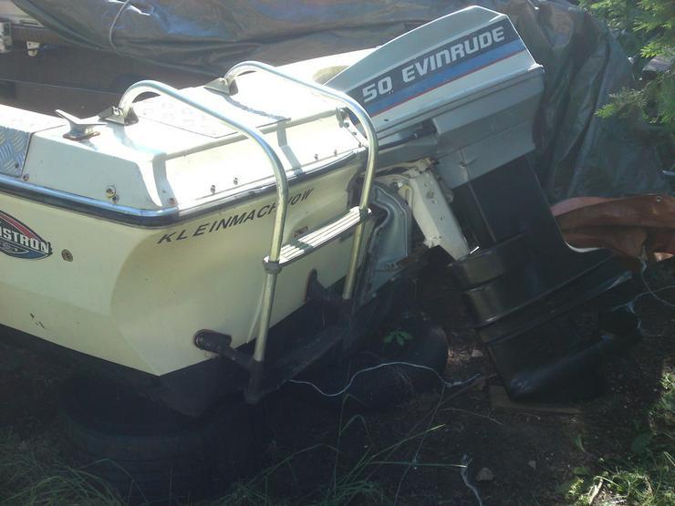 Bild 4: Motorboot Glastron 570x220cm Außenborder 50 PS