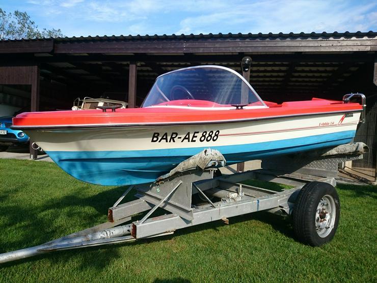 Bild 4: Motorboot Hille Delphin 350x150cm GFK Sportboot