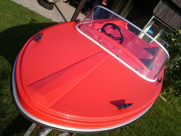 Motorboot Hille Delphin 350x150cm GFK Sportboot