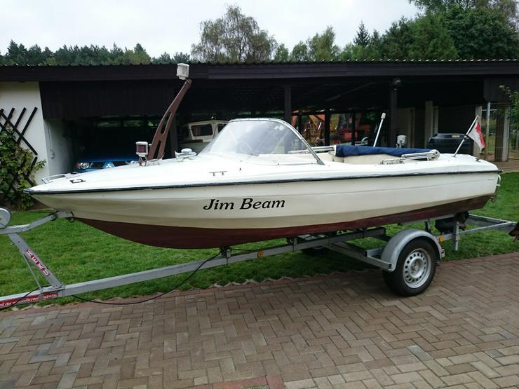 Motorboot Hille 460x180cm Sportboot Angelboot