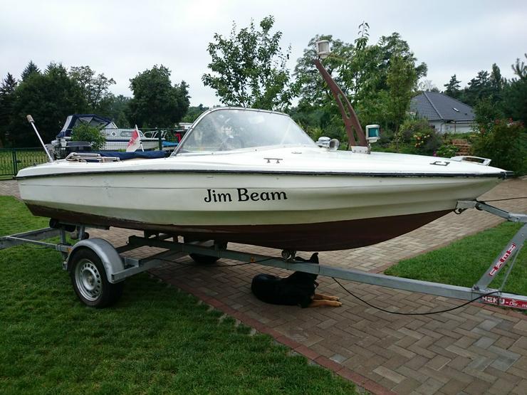 Bild 3: Motorboot Hille 460x180cm Sportboot Angelboot