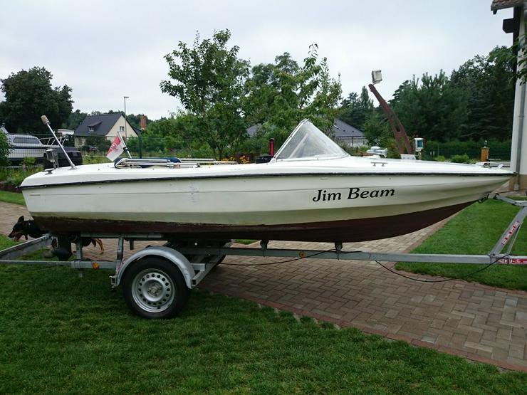 Bild 4: Motorboot Hille 460x180cm Sportboot Angelboot