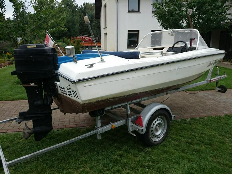 Bild 5: Motorboot Hille 460x180cm Sportboot Angelboot