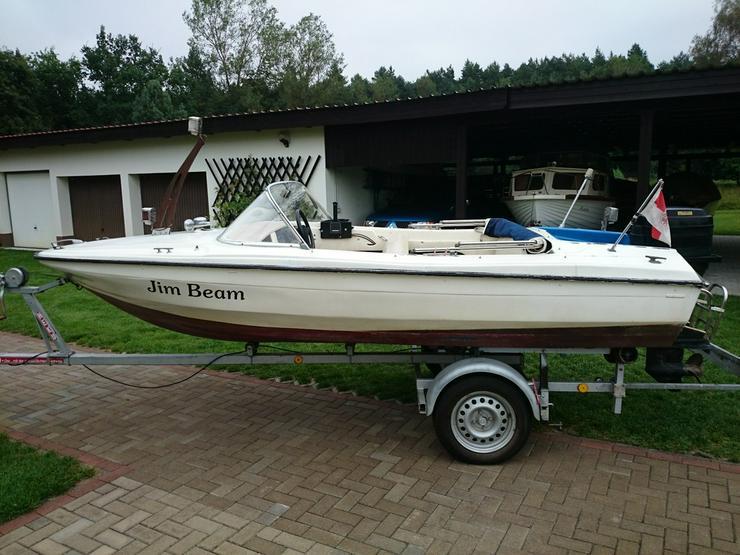 Bild 6: Motorboot Hille 460x180cm Sportboot Angelboot