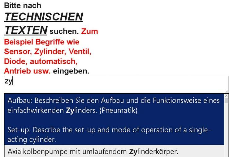 Bild 2: 2. Auflage: Wortschatz-Uebersetzung Mechatronik
