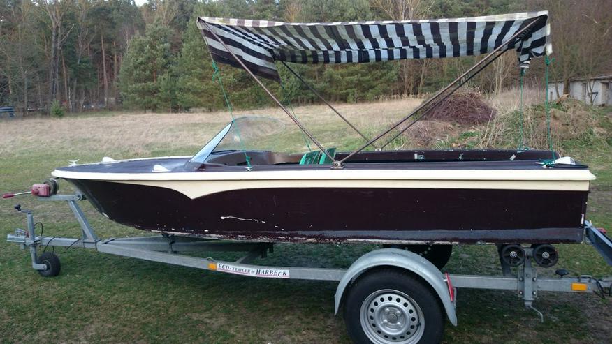 Bild 4: Motorboot Peetzsee 430x160 Sportboot Angelboot