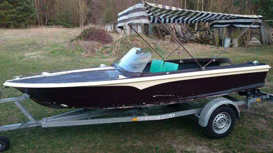 Motorboot Peetzsee 430x160 Sportboot Angelboot
