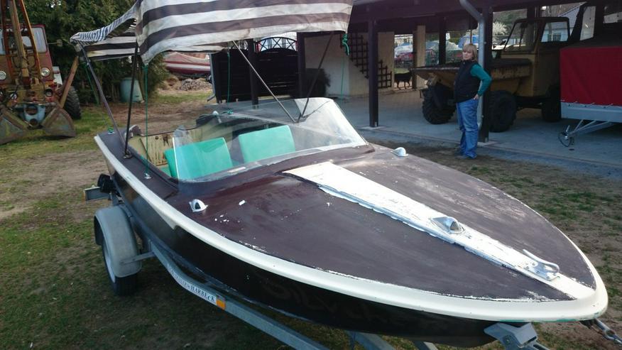 Bild 3: Motorboot Peetzsee 430x160 Sportboot Angelboot