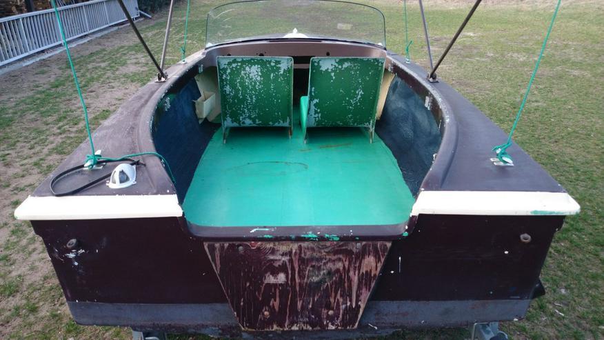 Bild 6: Motorboot Peetzsee 430x160 Sportboot Angelboot