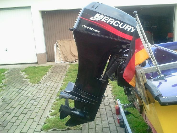 Außenbordmotor Mercury 25 PS 4-Takt Langschaft