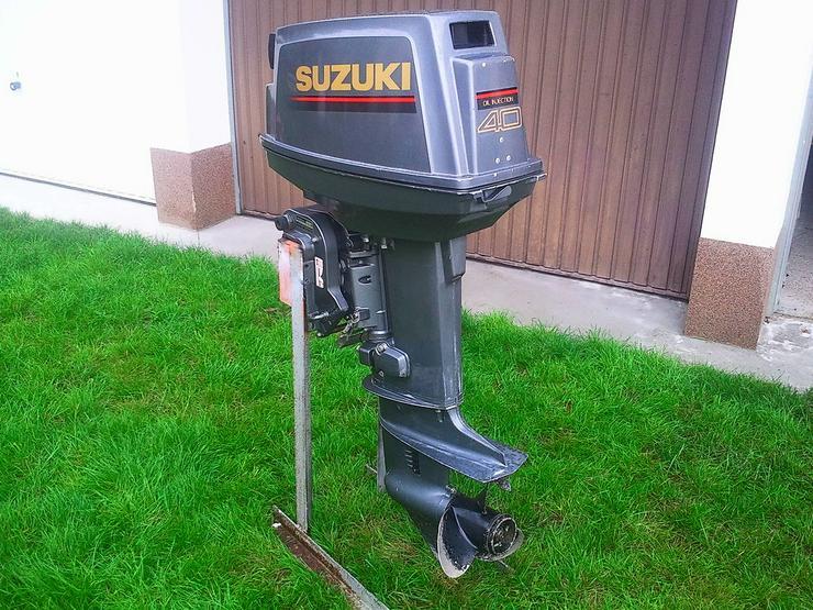 Außenbordmotor Suzuki 40 PS 2-Takt mit E-Start