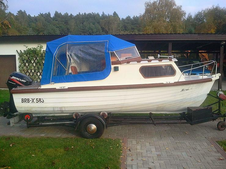 Kajütboot 535x220cm Außenborder 40 PS Bj.2005
