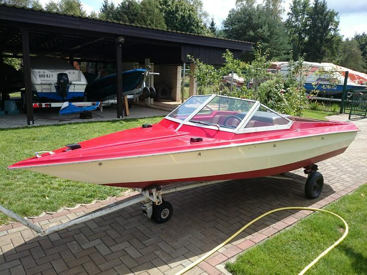 Bild 2: Motorboot Hohmann 465x165cm mit Inborder 50 PS