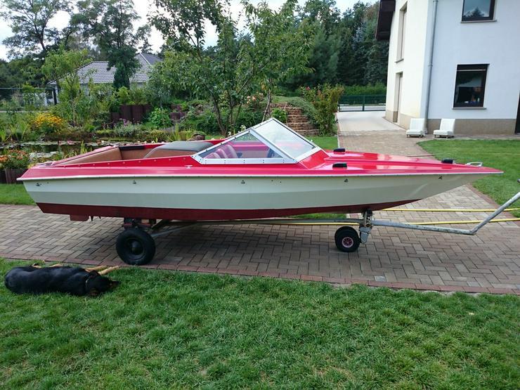 Bild 4: Motorboot Hohmann 465x165cm mit Inborder 50 PS