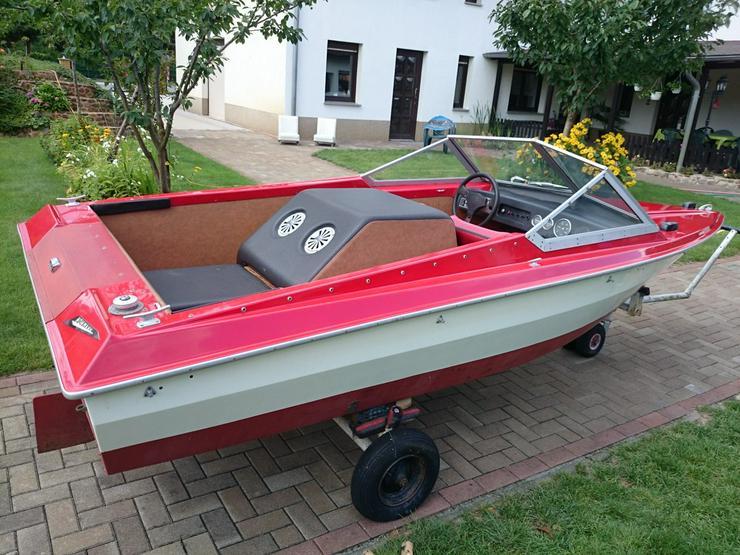 Bild 5: Motorboot Hohmann 465x165cm mit Inborder 50 PS