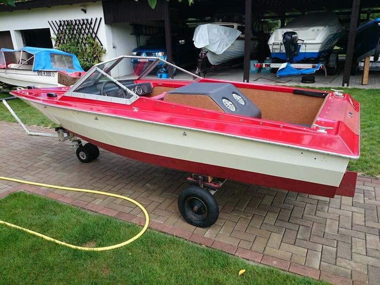 Bild 6: Motorboot Hohmann 465x165cm mit Inborder 50 PS