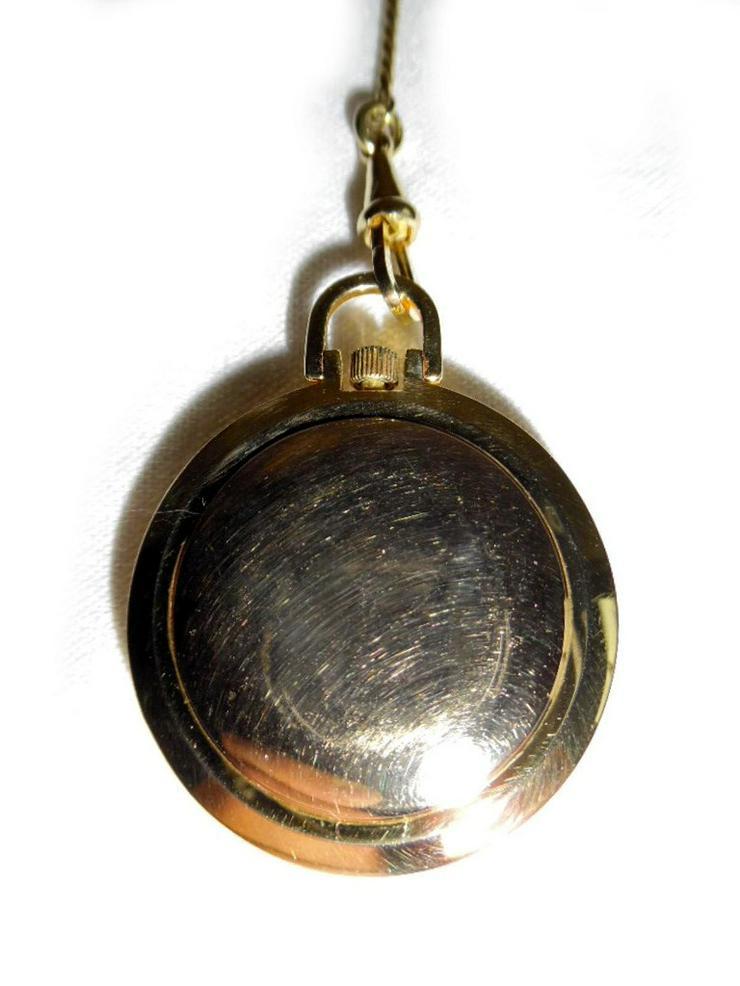 Bild 3: Schöne Taschenuhr von Osco mit Kette