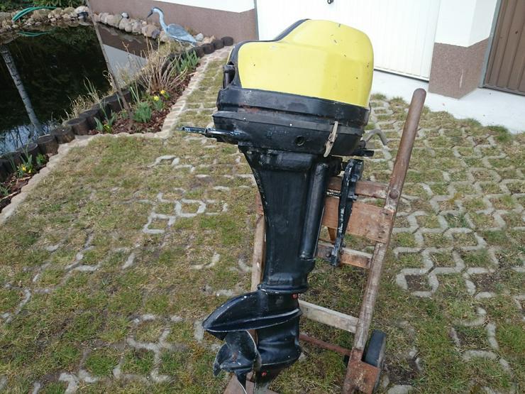 Außenbordmotor Wichr 25 PS Oldtimer Außenborder