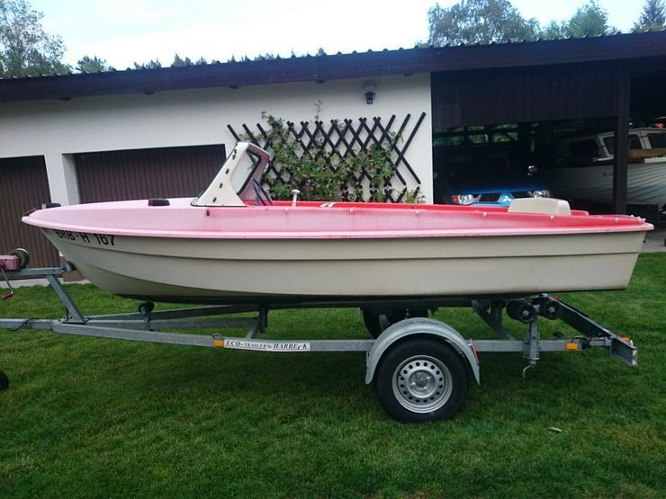 Bild 2: Motorboot Ibis 440x160cm Angelboot Sportboot