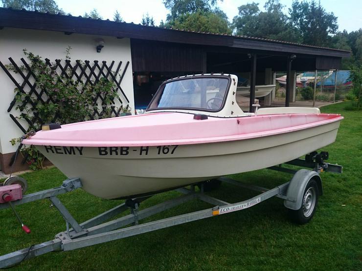 Motorboot Ibis 440x160cm Angelboot Sportboot