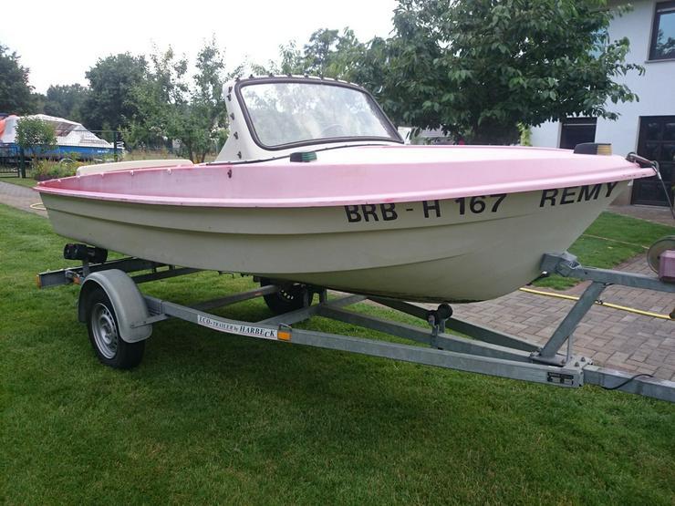 Bild 3: Motorboot Ibis 440x160cm Angelboot Sportboot