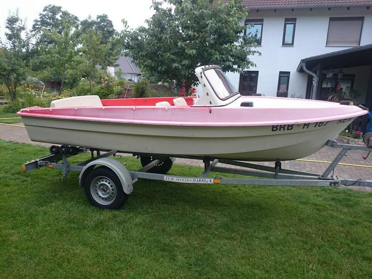 Bild 4: Motorboot Ibis 440x160cm Angelboot Sportboot