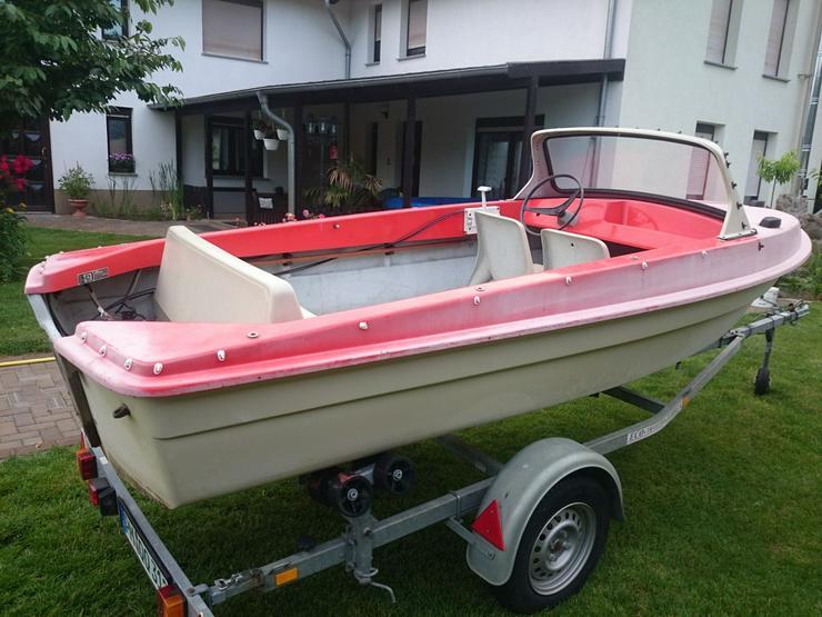 Bild 5: Motorboot Ibis 440x160cm Angelboot Sportboot