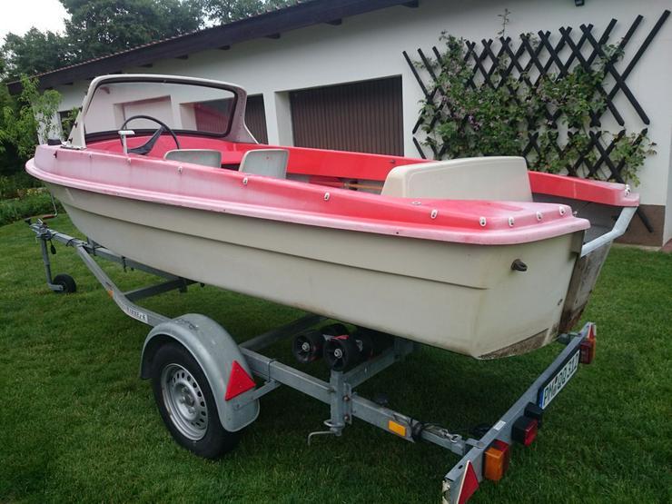 Bild 6: Motorboot Ibis 440x160cm Angelboot Sportboot