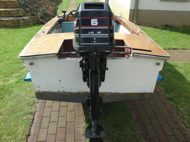 Bild 4: Motorboot Plaue 480x150cm Sportboot Angelboot
