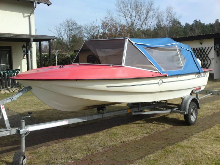 Motorboot Boss 400x150cm Sportboot Angelboot
