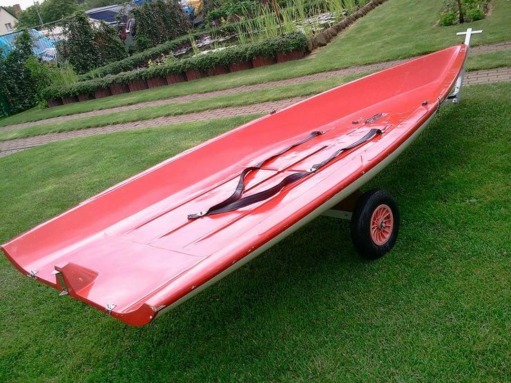 Surfjolle Opal 420x160cm Surfbrett Segeljolle