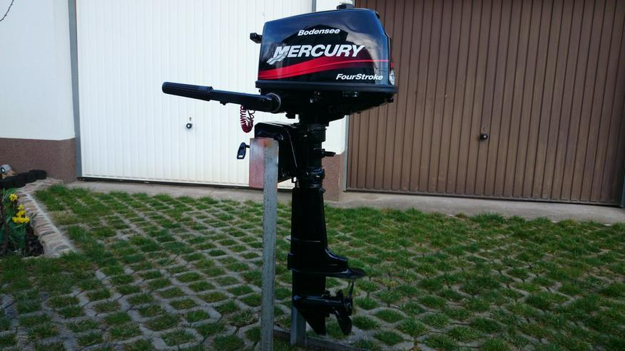 Außenbordmotor Mercury 4 PS 4-Takt Außenborder