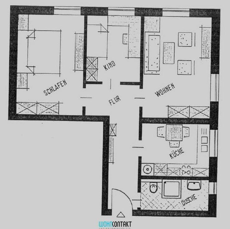 ** Traumhafte 3-Raumwohnung in Gohlis - TOP Grundriss ** - Wohnung mieten - Bild 1