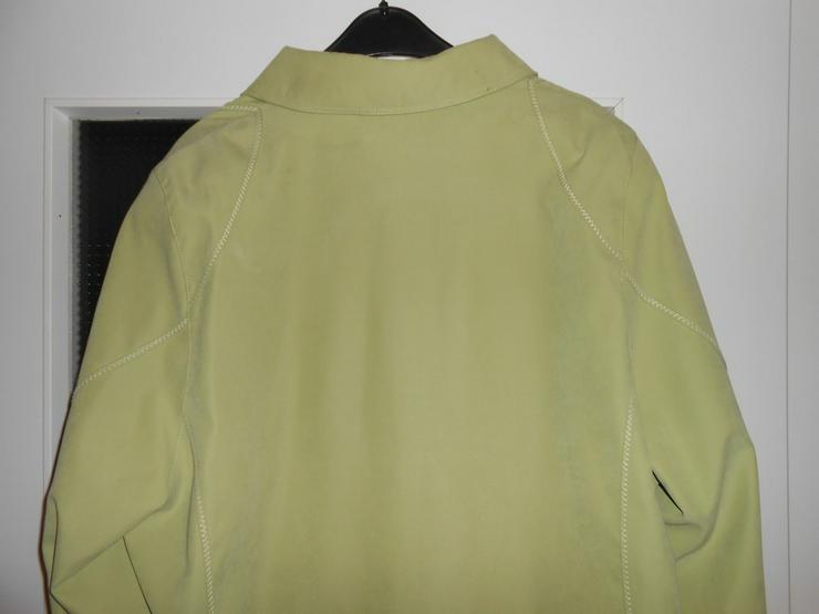 Bild 6: Mintgrüne Wildlederjacke Grösse L Bzw.44-46