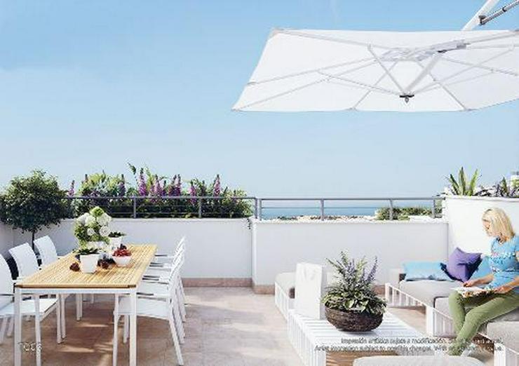 Wunderschöne 3-Schlafzimmer-Penthouse-Wohnungen mit Meerblick und Gemeinschaftspool