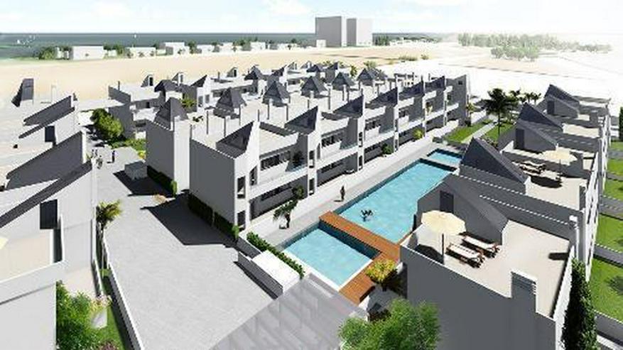 Moderne 3-Zimmer-Erdgeschoss-Wohnungen mit Gemeinschaftspool nur 300 m vom Meer
