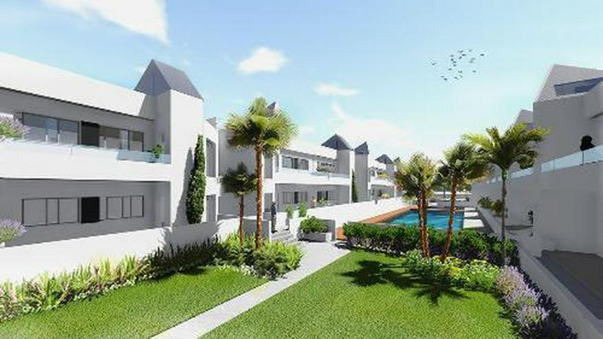 Moderne 4-Zimmer-Erdgeschoss-Wohnungen mit Gemeinschaftspool nur 300 m vom Meer
