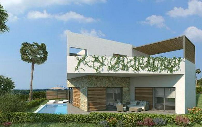 Bild 4: Luxusvillen mit wunderschönen Natursteinelementen und Privatpool