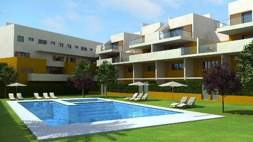 4-Zimmer-Maisonette-Wohnungen mit Dachterrasse, Gemeinschaftspool und Meerblick nur 350 m ... - Wohnung kaufen - Bild 1