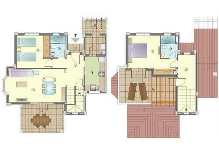 Bild 4: Wunderschöne 3-Zimmer-Doppelhaushälften nur 1 km vom Strand