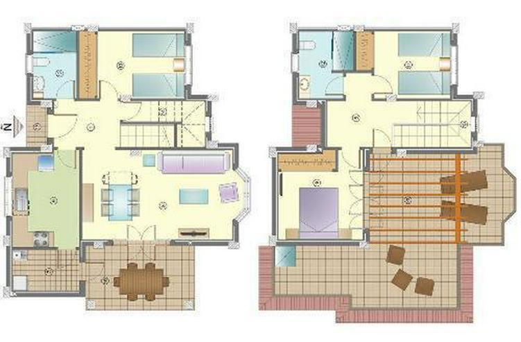 Bild 4: Wunderschöne 4-Zimmer-Doppelhaushälften nur 1 km vom Strand