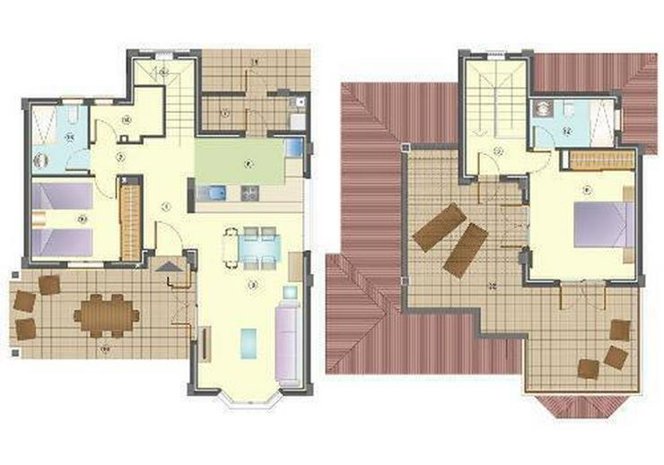 Bild 3: Wunderschöne 3-Zimmer-Villen nur 1 km vom Strand