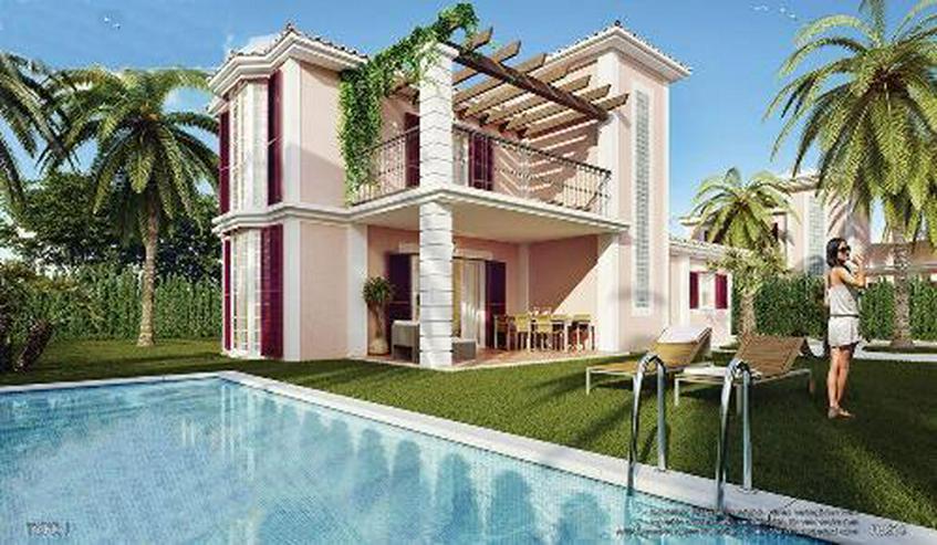 Wunderschöne 3-Zimmer-Villen nur 1 km vom Strand