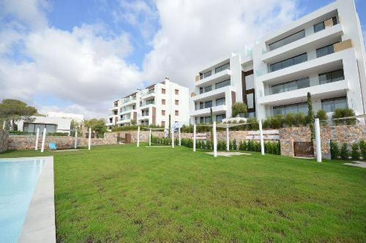 Bild 2: 4-Zimmer-Luxus-Penthouse-Wohnungen mit Meerblick in exklusivem Golf Resort