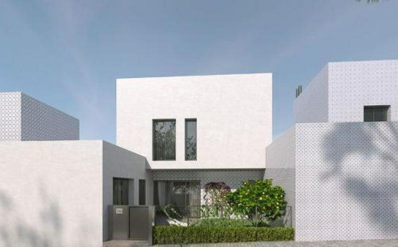 3-Zimmer-Reihenhäuser in minimalistischem Design ca. 7 km vom Strand